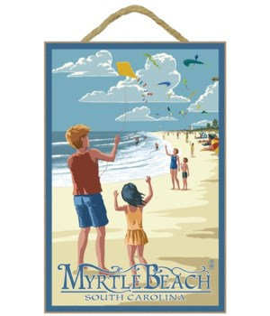 Kite Flyers - Myrtle Beach, South Caroli