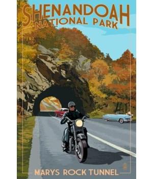 Shenandoah Nat'l Park -Marys Rock Tunnel