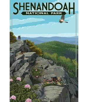 Shenandoah Nat'l Park - Hikers & Hawk