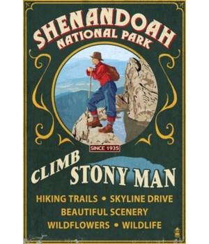 Shenandoah Nat'l Park - Climb Stony Man