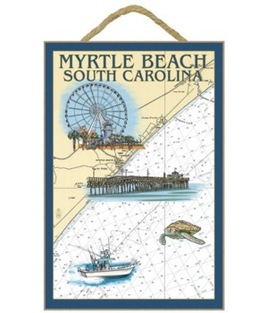 Myrtle Beach, South Carolina - Nautical