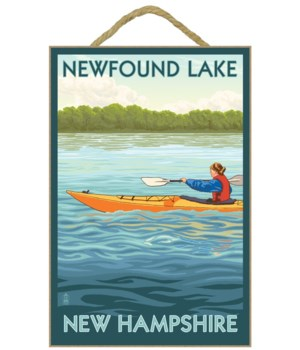 Newfound Lake, New Hampshire - Kayak Sce