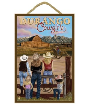 Durango, Colorado - Cowgirls - Lantern P