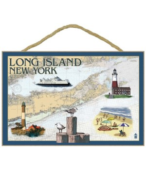 Long Island, New York - Nautical Chart -