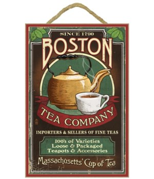 Boston, Massachusetts - Boston Tea Vinta