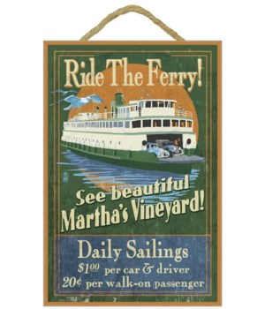 Martha's Vineyard, Massachusetts - Ferry