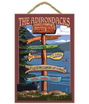 The Adirondacks -  Adirondack State Park