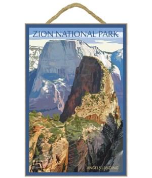 Zion National Park - Angels Landing - La
