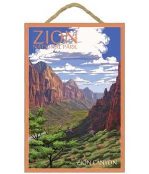 Zion National Park - Zion Canyon View -