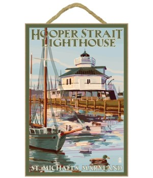 Hooper Strait Lighthouse (Colorized) - S