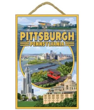 Pittsburgh, Pennsylvania - Montage Scene