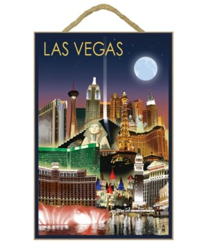 Las Vegas, Nevada - Las Vegas at Night -