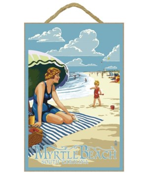Myrtle Beach, South Carolina - Woman on