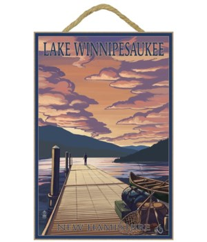 Lake Winnipesaukee, New Hampshire - Dock