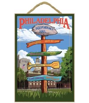 Philadelphia, Pennsylvania - Sign Destin