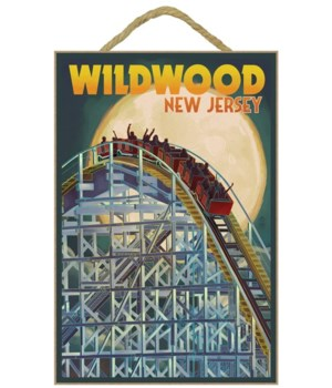 Wildwood, New Jersey - Roller Coaster &