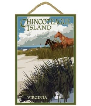Chincoteague Island, Virginia - Horses &