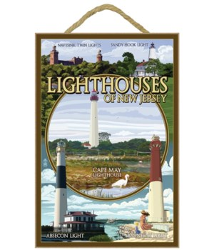 New Jersey - Lighthouse Montage Scenes -