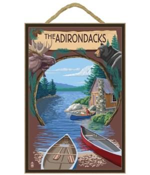 The Adirondacks, New York State - Lake M