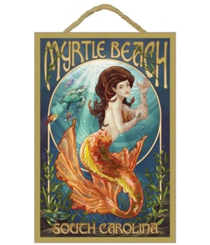 Myrtle Beach, South Carolina - Mermaid -