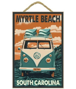 Myrtle Beach, South Carolina - VW Van Le