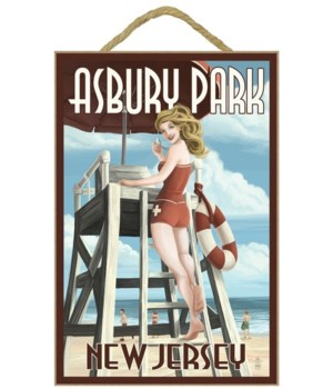 Asbury Park, New Jersey - Lifeguard Pinu