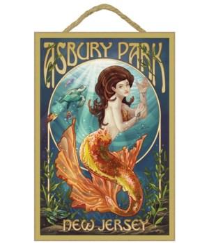 Asbury Park, New Jersey - Mermaid - Lant