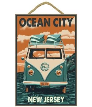 Ocean City, New Jersey - VW Van Letterpr