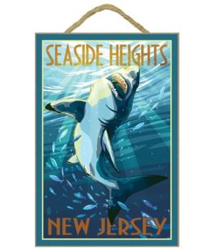 Seaside Heights, New Jersey - Stylized S