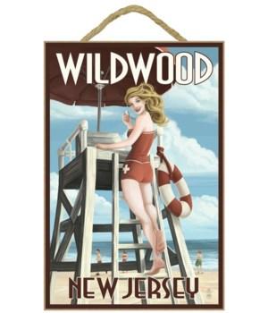 Wildwood, New Jersey - Lifeguard Pinup G