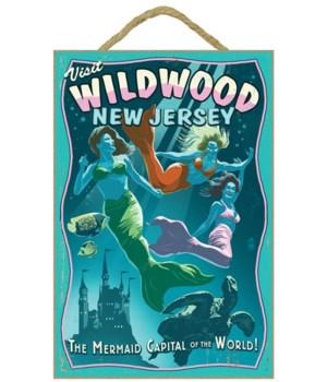 Wildwood, New Jersey - Mermaid Capital S