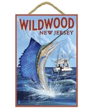 Wildwood, New Jersey - Sailfish Fishing