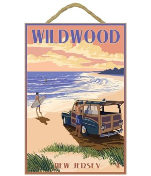 Wildwood, New Jersey - Woody On The Beac