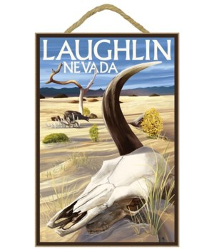 Cow Skull - Laughlin, Nevada - Lantern P