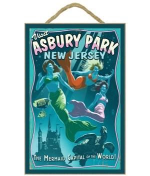 Asbury Park, New Jersey - Mermaids Vinta
