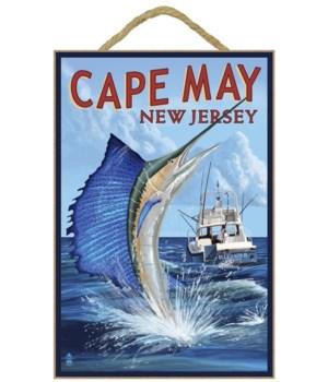 Cape May, New Jersey - Sailfish Deep Sea