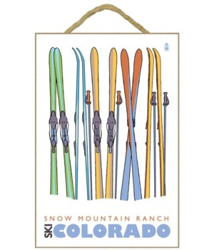 SFw Mountain Ranch, Colorado - Skis in