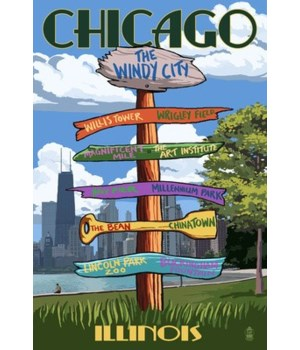 Chicago, Illinois - Destination Signpost