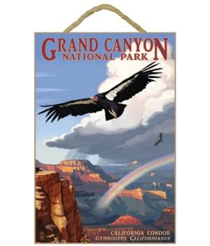 Condor & Rainbow - Grand Canyon National