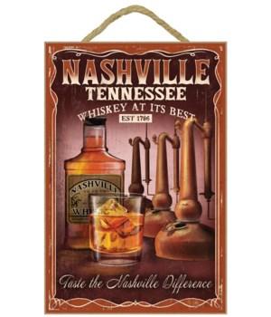 Nashville, Tennessee - Whiskey Vintage S