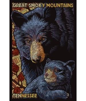 Bear Mosaic - Great Smoky Mountains, Ten