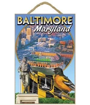 Baltimore, Maryland - Baseball Montage -