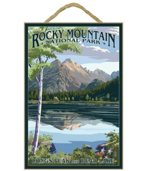 Longs Peak & Bear Lake Summer- Rocky Mou