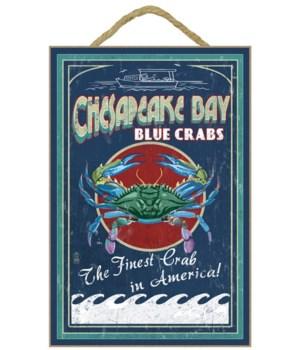 Chesapeake Bay, Virginia - Blue Crab Vin