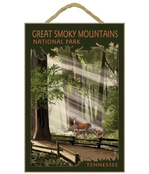 Great Smoky Mountains, Tennessee - Pathw
