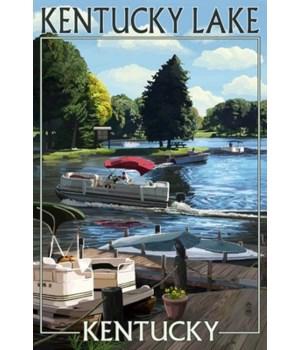 Kentucky Lake, Kentucky - Pontoon Boats