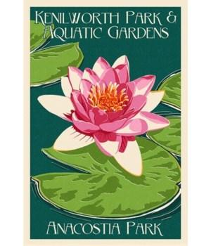 Lily Pad & Lotus Letterpress - Kenilwort