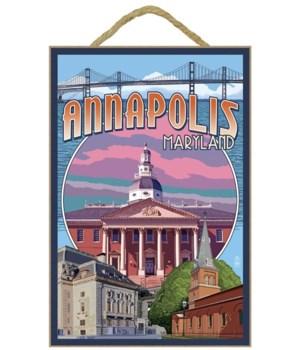 Annapolis, Maryland - Montage - Lantern