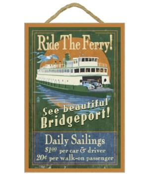 Bridgeport, Connecticut - Ferry Ride Vin