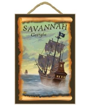 Savannah, Georgia - Pirate Ship  - Lante